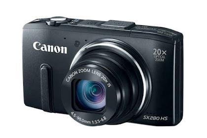 Canon PowerShot SX280 HS Driver Download Windows, Mac