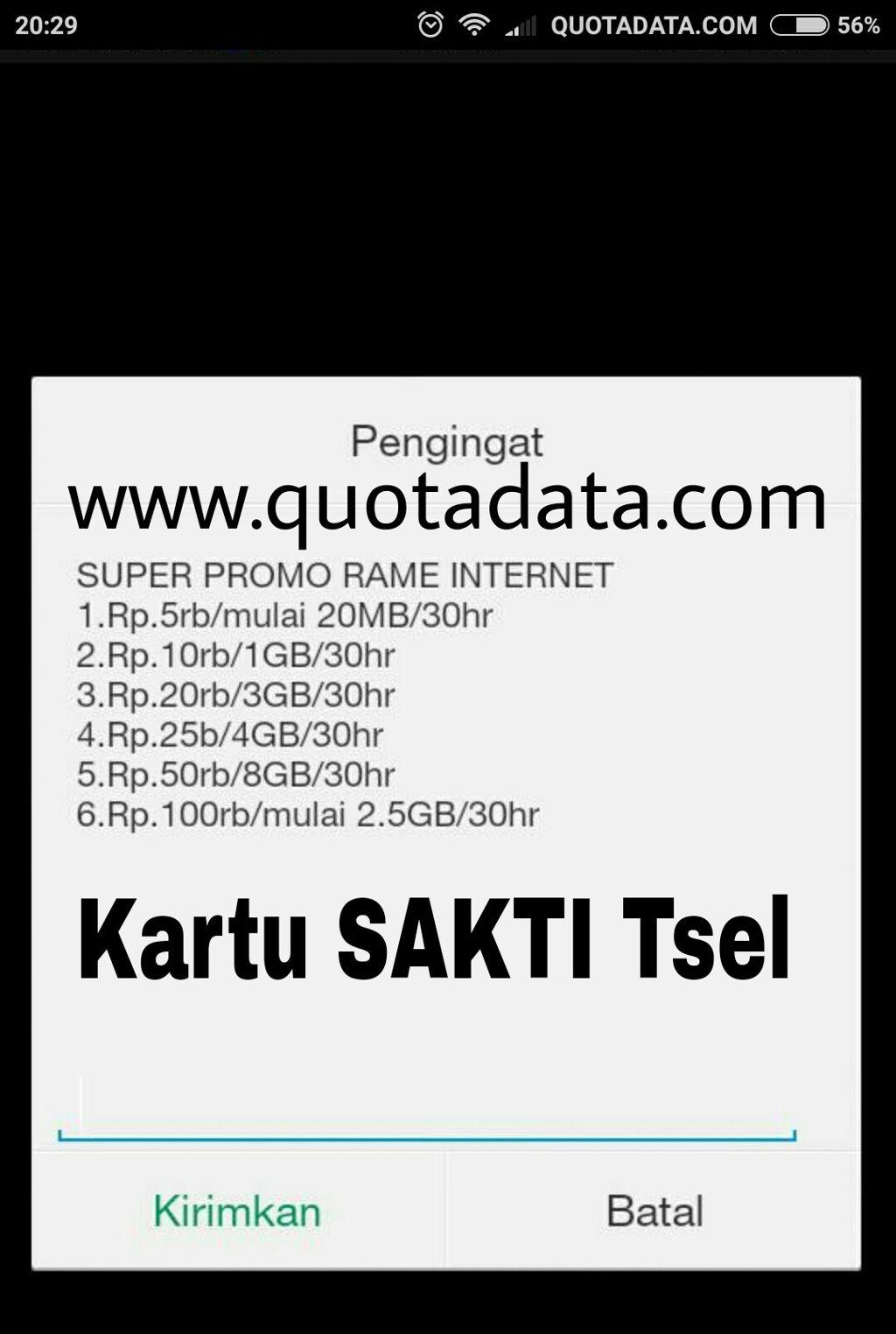 Cara Cek Kartu Sakti Telkomsel 2018 Terbaru Quota Data Perdana Tsel Kuota 9gb Simpati