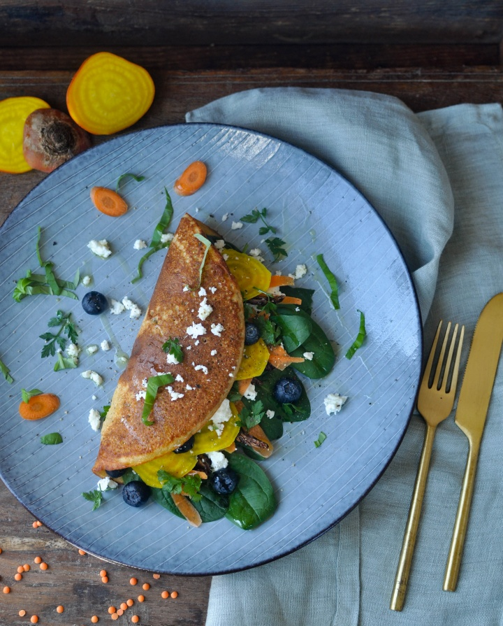 easy and delicious gluten free lentil pancakes