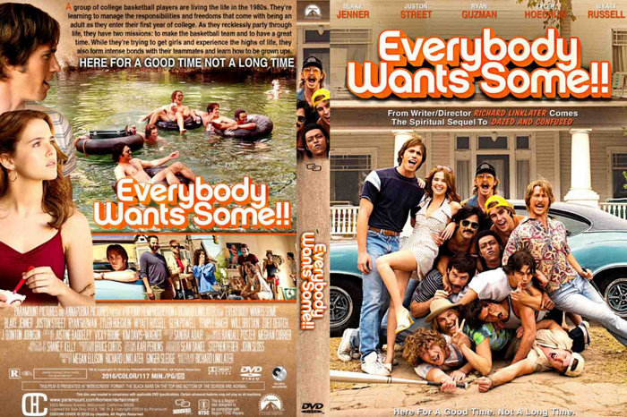 10 Film Paling Hot dan Seksi Tahun 2016, movie trailer, movie review, cast, Everybody Wants Some movie