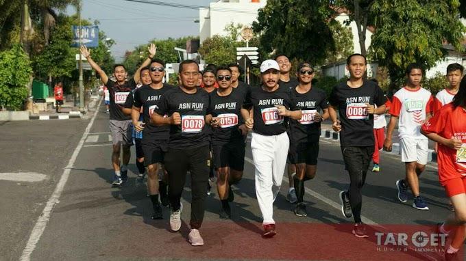 Bupati Haryanto Semarakkan Boyolali Berlari 7K