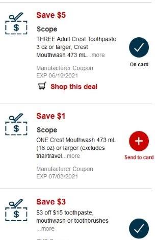 scope cvs crt coupons