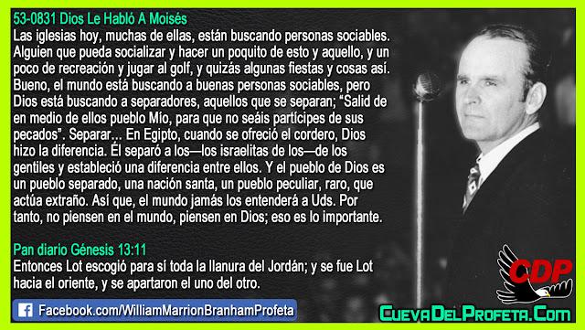 El mundo jamás los entenderá - William Branham en Español