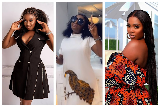 Moment Actress Ini edo sings and dances Passionately to Tiwa Savage new song  (Video)