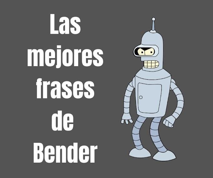 Las mejores Frases de Bender, Futurama