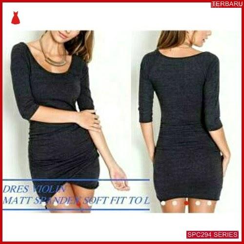 SPC294V35 Violin Dress Terbaru Dress Wanita | BMGShop