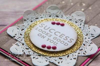 Success Looks Good On You Team Congratulations Card made using Stampin' Up! UK Supplies