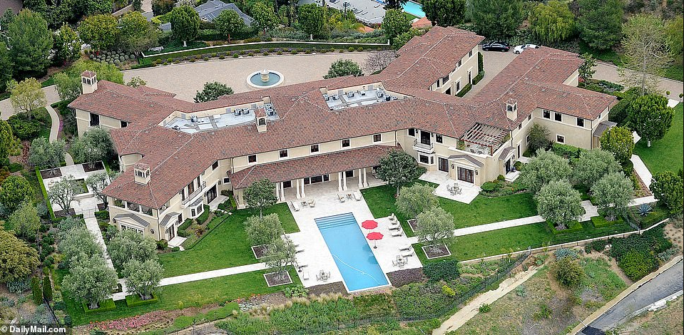 Meghan Markle and Prince Harry are living in Tyler Perry's £15million Beverly Hills manor on account of their common companion Oprah Winfrey
