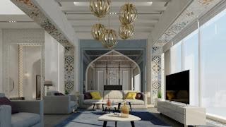 نمط التصميم الداخلي العربي