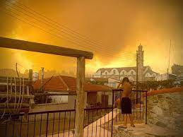 cyprus wildfire