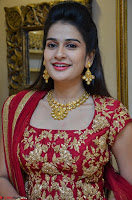 Jenny Honey in Stunning Dark Red Anarkali Dress at Splurge   Divalicious curtain raiser ~ Exclusive Celebrities Galleries 015.JPG