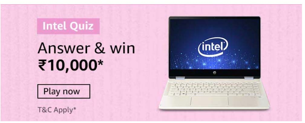 Amazon Intel Quiz Answers