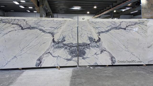 Milas Lilac marble slabs NYC