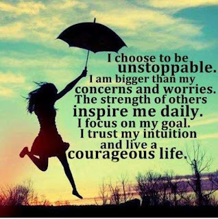 i choose to be unstoppable - happiness quotes