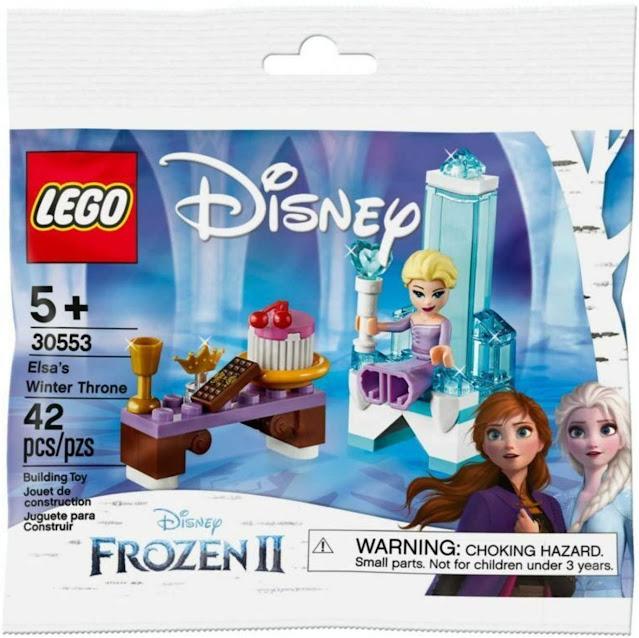 Disney Lego Frozen Set