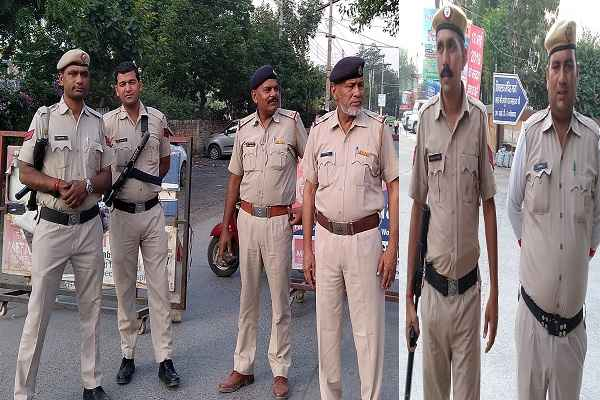 faridabad-loksabha-election-live-result-security-at-counting-places