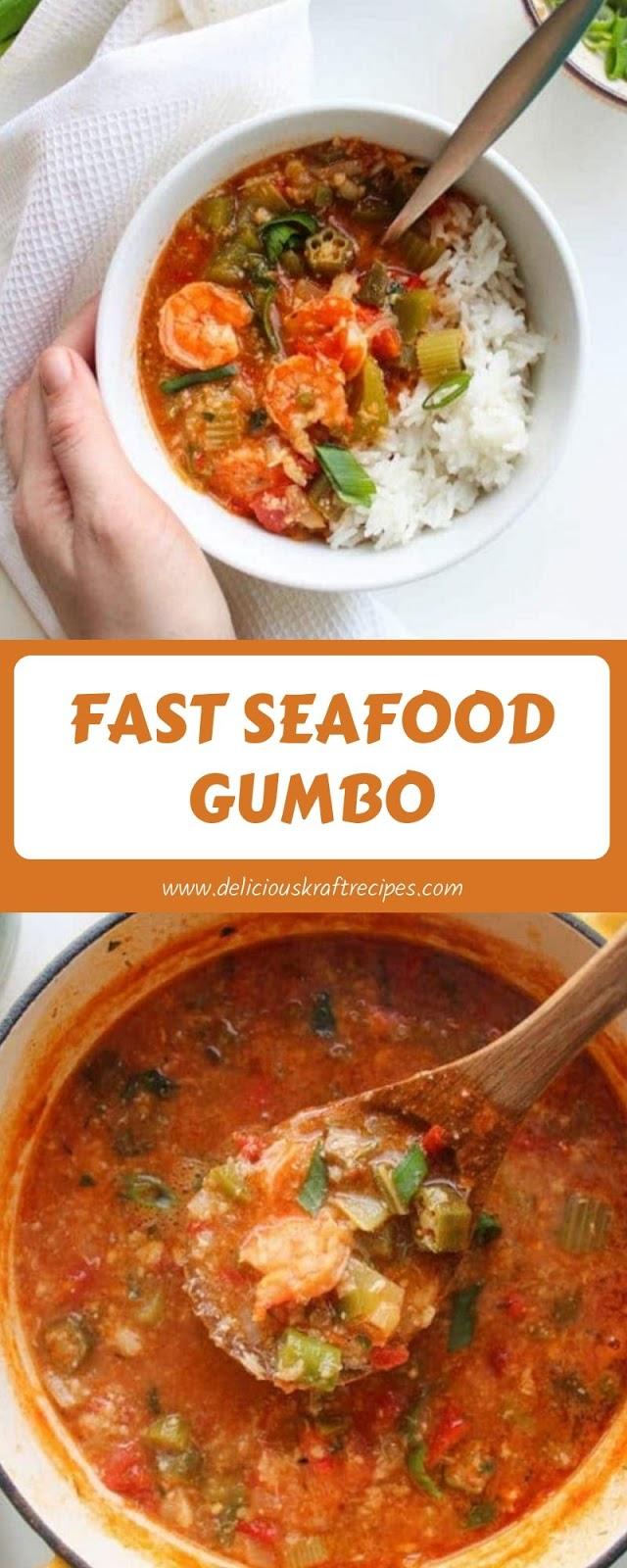 FAST SEAFOOD GUMBO