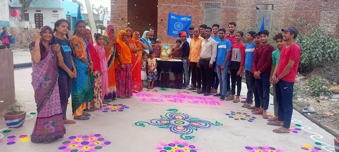 आमलोदा में भीमराव अंबेडकर की जयंती मनाई