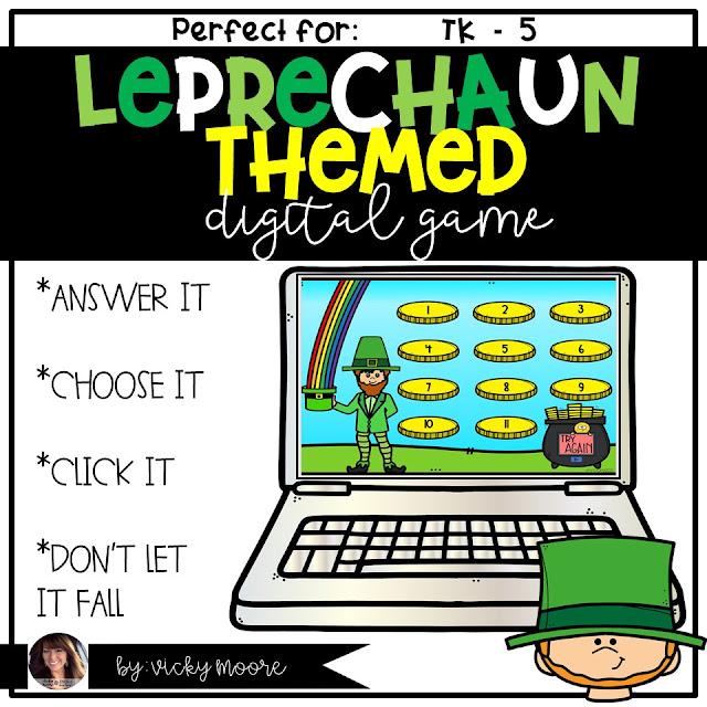 digital leprechuan game