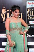 Sakshi Agarwal in Transparent Sleevelss Tight Gown at IIFA Utsavam Awards 019.JPG