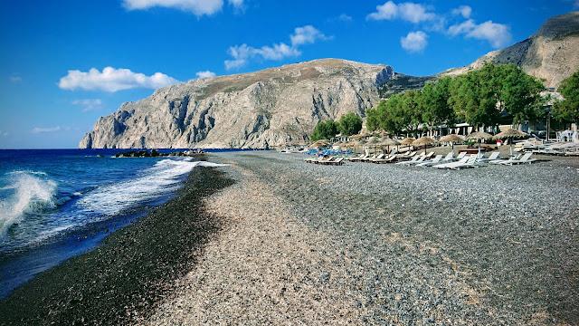 شاطئ كماري Kamari Beach