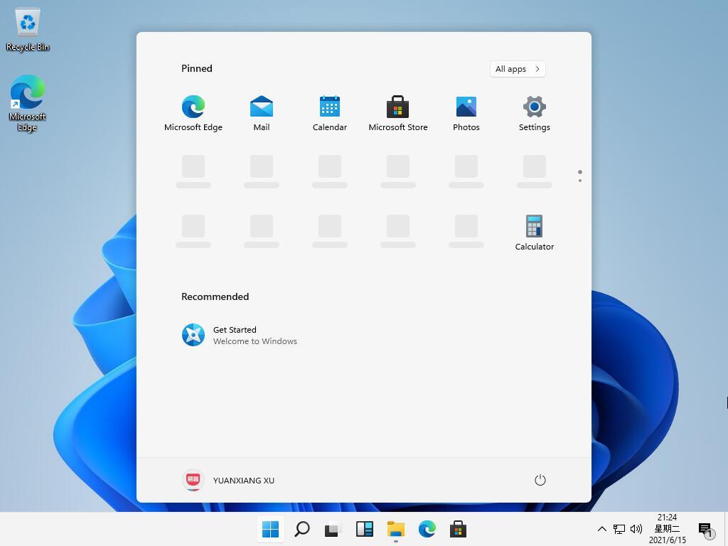 Ecco Windows 11!