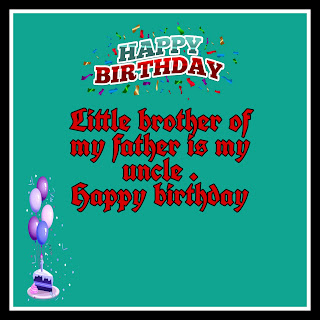 Happy birthday images uncle