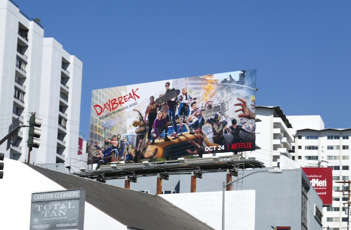 Daybreak season 1 billboard