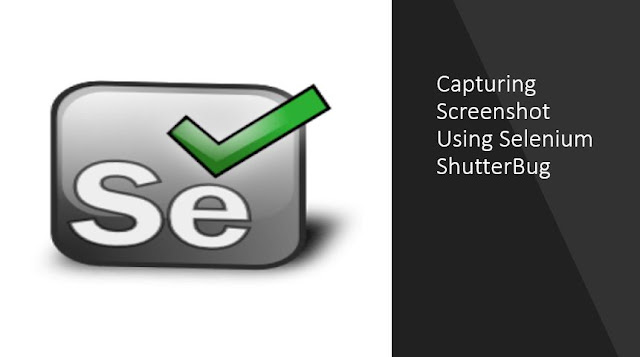 Capturing Screenshot using Selenium ShutterBug