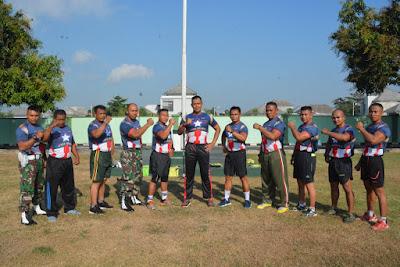Danrem Pimpin Olaraga Bersama Satuan Jajaran Korem 162/WB Segarnisun Mataram
