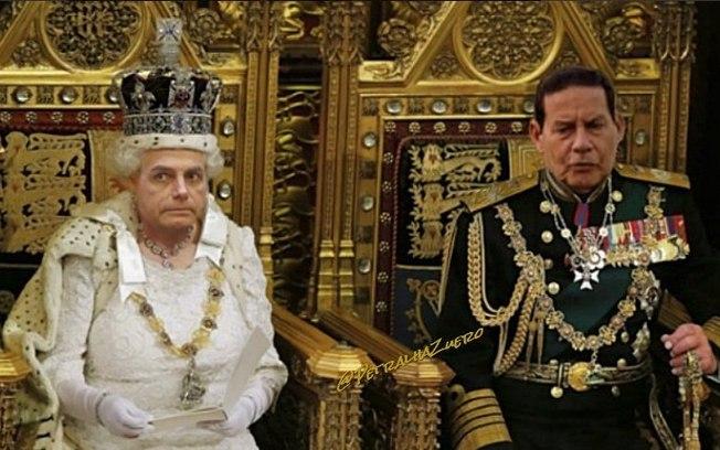 MEME DA INTERNET: Bolsonaro vira meme após 'se comparar' à rainha da Inglaterra; veja os melhores.