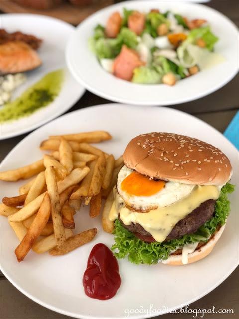Sofitel KL Classic Beef Burger