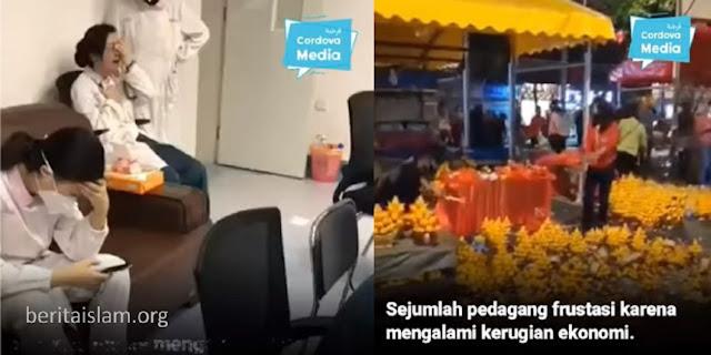 Uighur vs Hantu Corona China