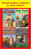 peter allerton children's story chapter book collection writing reading
