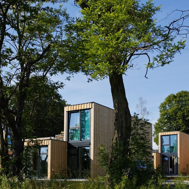 Shipping Container Tiny Homes Village, Germany 7