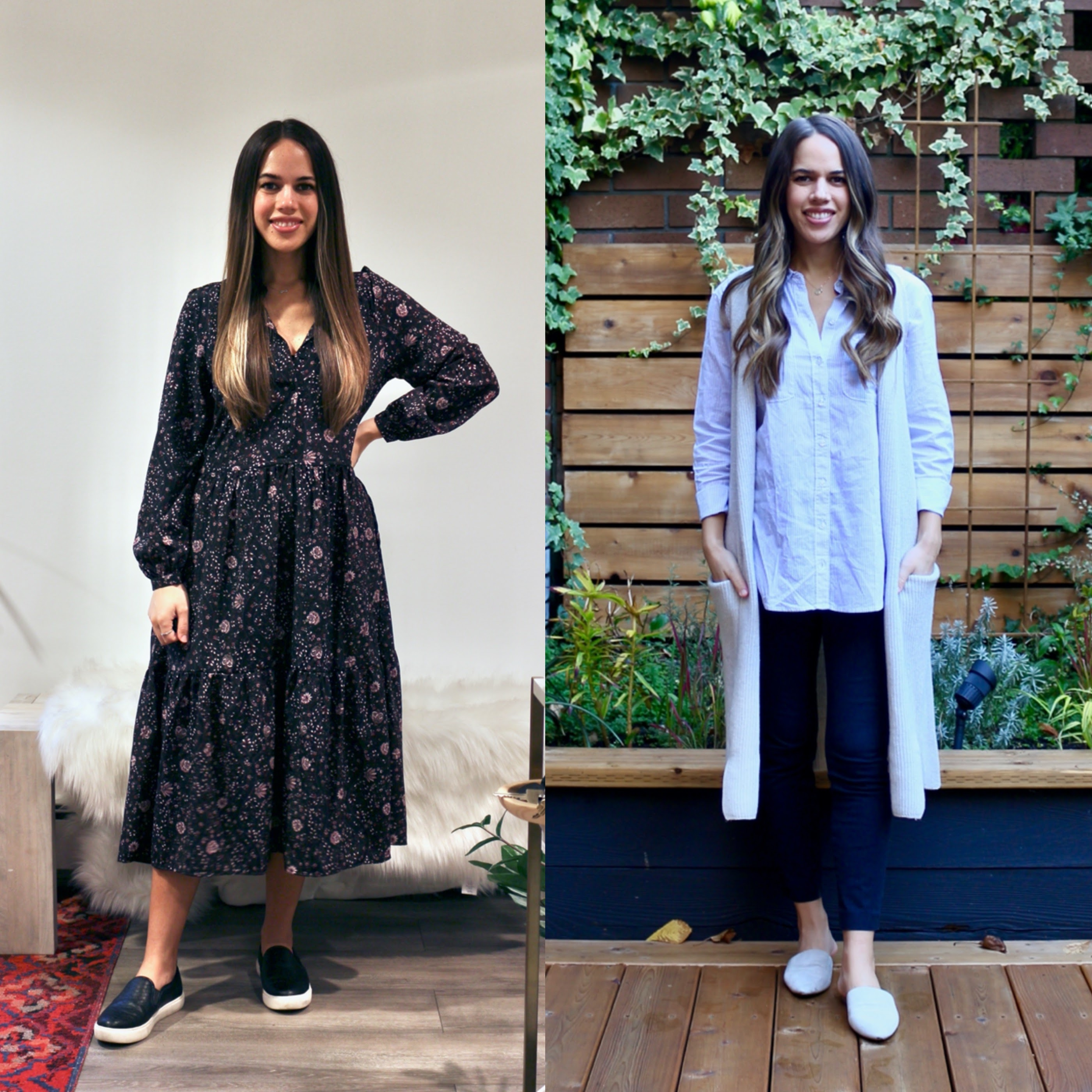 Jules in Flats - What I Wore to Work in November