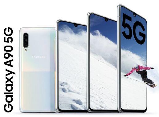Samsung Galaxy A90 5G With Snapdragon 855 SoC