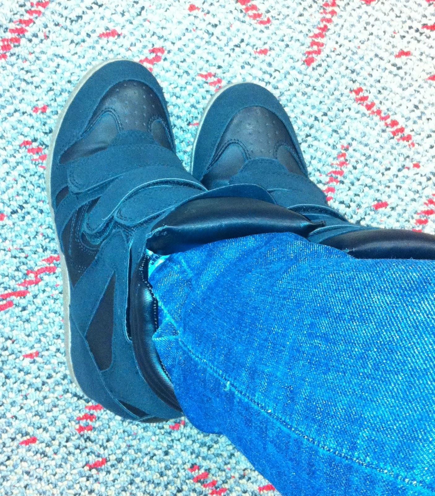 51f786694271 Item  Xhilaration Kahsha High Top Wedge Sneaker