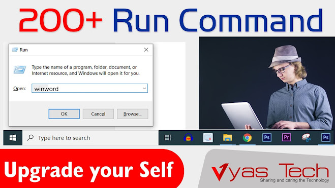 200+ List of run Command that are use in run panel | run panel shortcut| Vyas Tech