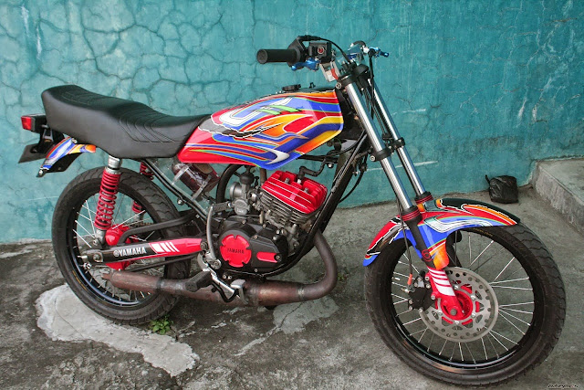 Foto Modifikasi Motor Yamaha RX King