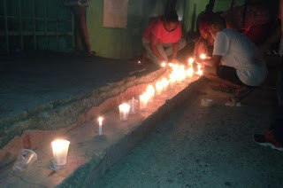 Encienden velas en reclamo de respeto elecciones Club GUG