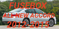 letak sekring mobil HONDA ALL NEW ACCORD 2012-2015