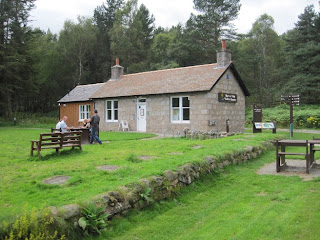 The information lodge at the Burn o' Vat