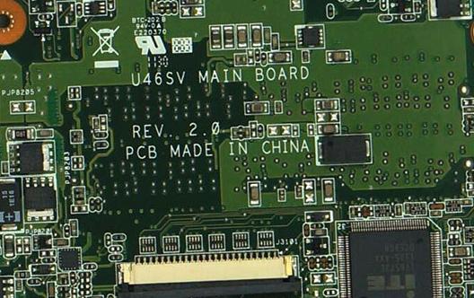 U46SV MAIN BOARD REV 2.0 ASUS U46S Laptop Bios