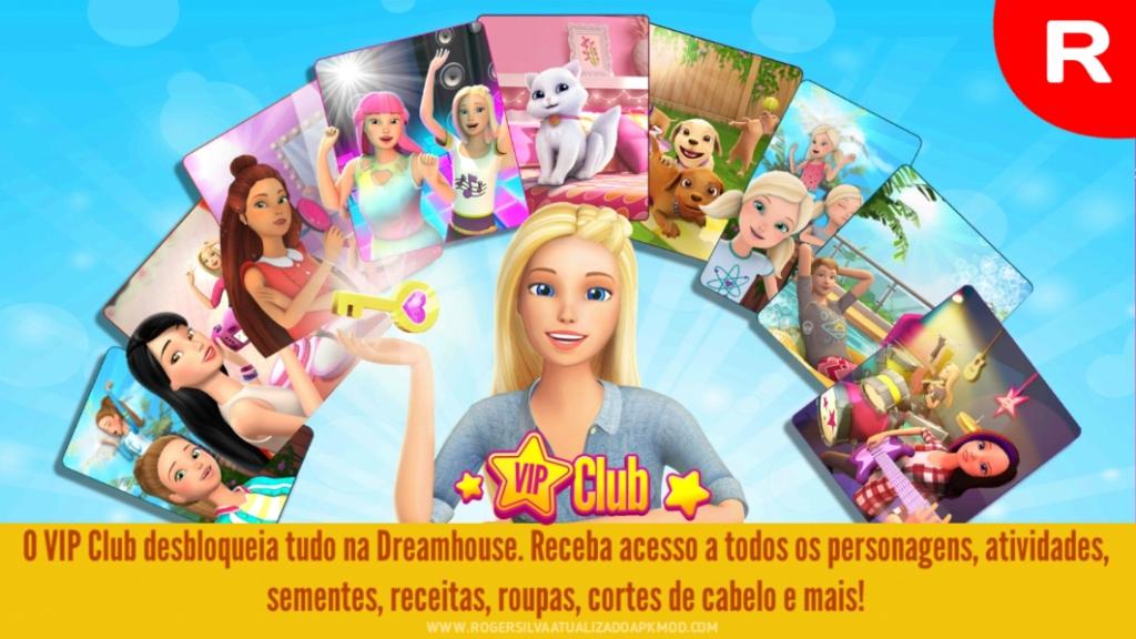 Barbie Dreamhouse Adventures apk mod vip grátis