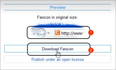 Cara Membuat Gambar Favicon Blog secara Online