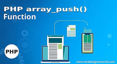 PHP array_push() Function