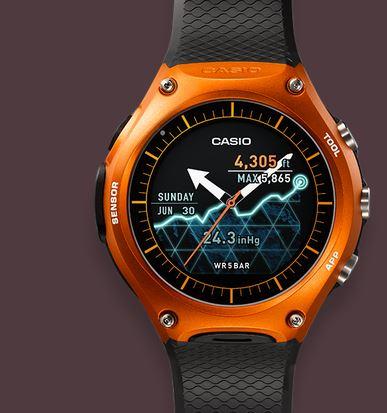 Casio Smart Watch, Casio watch, Casio outdoor watch, Casio android, Casio android wearable