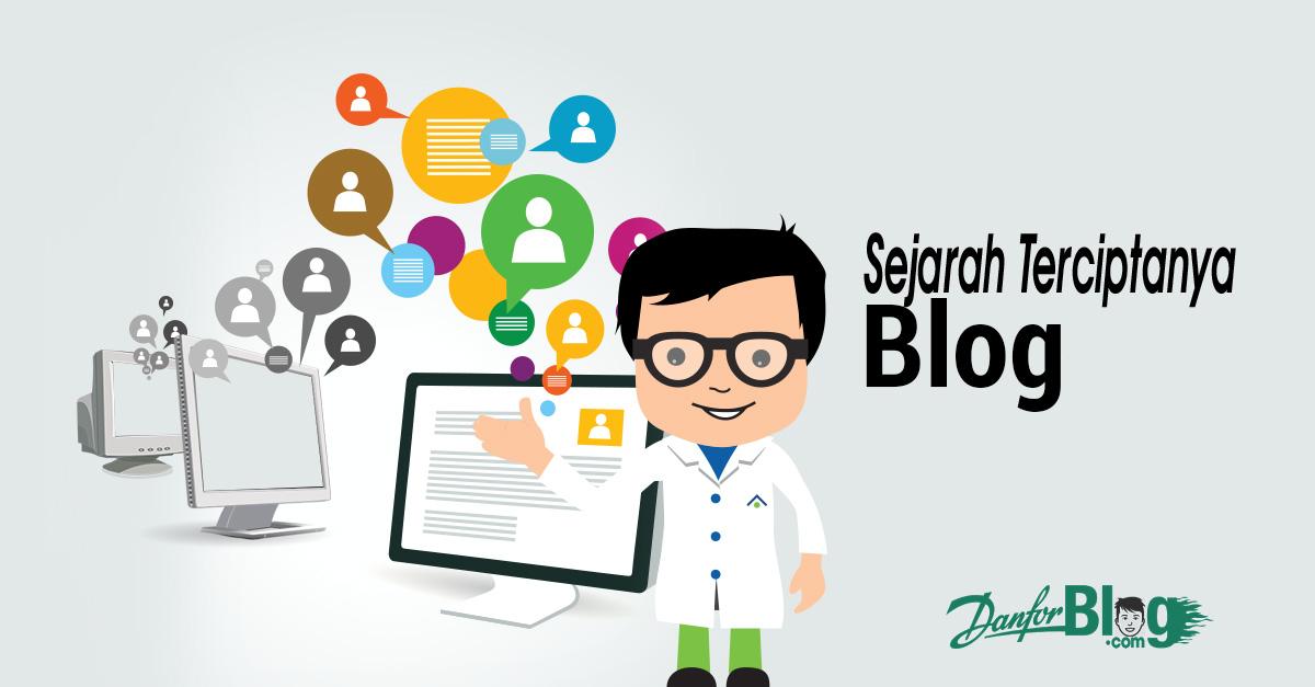 Sejarah Terciptanya Blog / Website