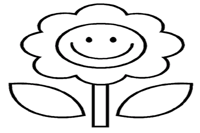 72 Gambar Mewarnai Bunga Untuk Anak Paud Dan Tk Gambar Mewarnai Bunga